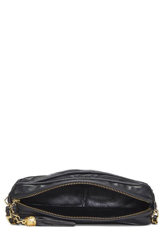Black Lambskin Pocket Camera Bag Medium, , large image number 6