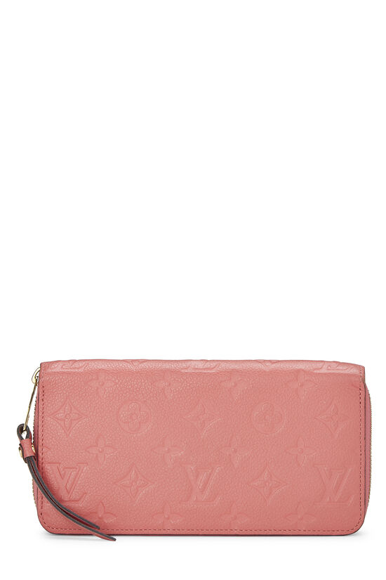 Pink Empreinte Zippy Continental Wallet, , large image number 0
