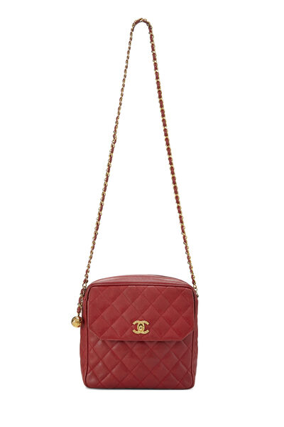 Redr Quilted Caviar Tall Camera Bag Small, , large