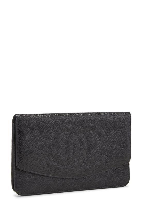 Black Caviar Timeless 'CC' Wallet, , large image number 1