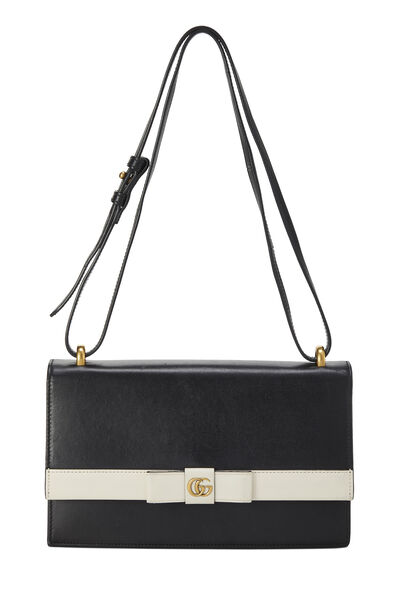 Black Leather 3-Way Convertible Clutch
