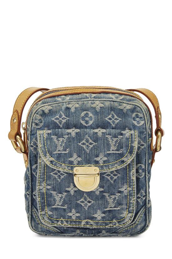 Blue Monogram Denim Camera Bag, , large image number 0