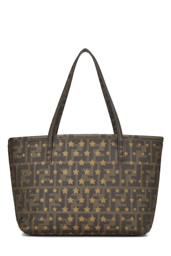 Brown  Zucca Coated Canvas Spalmati Roll Tote Mini, , large image number 3