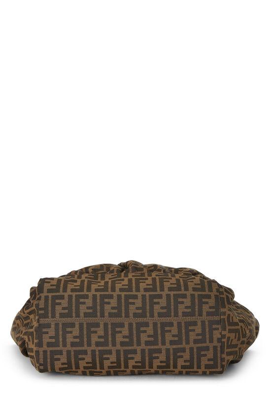 Brown Zucca Canvas Handbag Large, , large image number 4