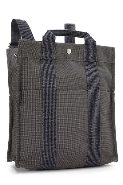 Grey Canvas Herline Sac A Dos MM, , large