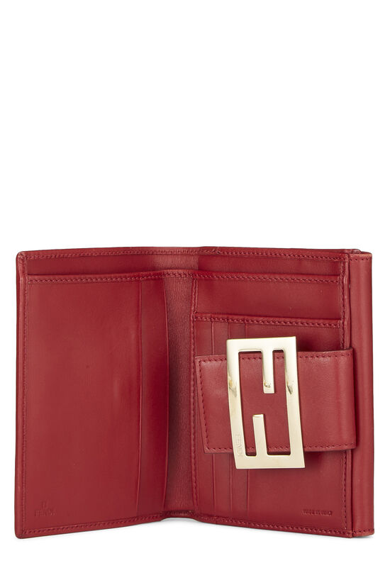 Red Zucchino Canvas Compact Wallet, , large image number 3