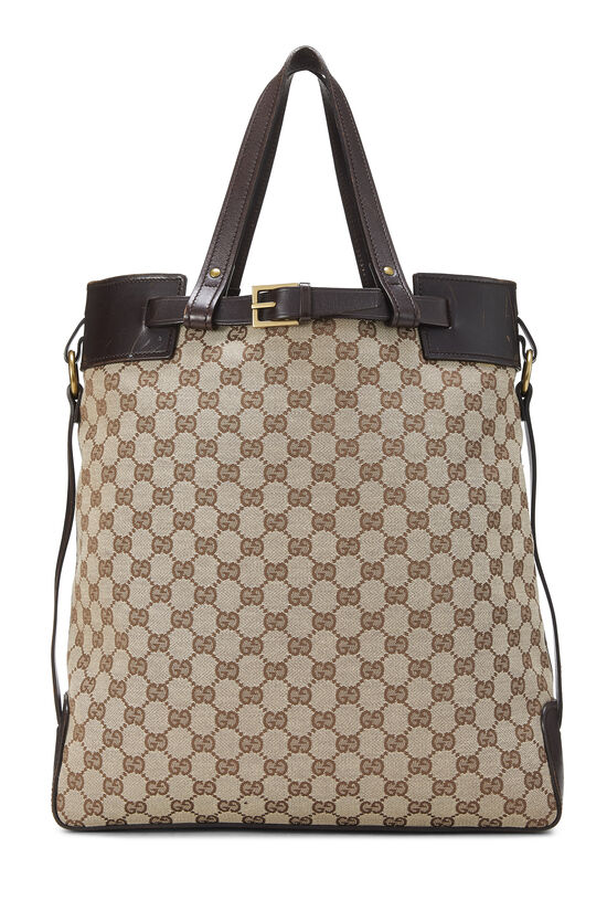 Original GG Canvas Buckle Tote Small, , large image number 0