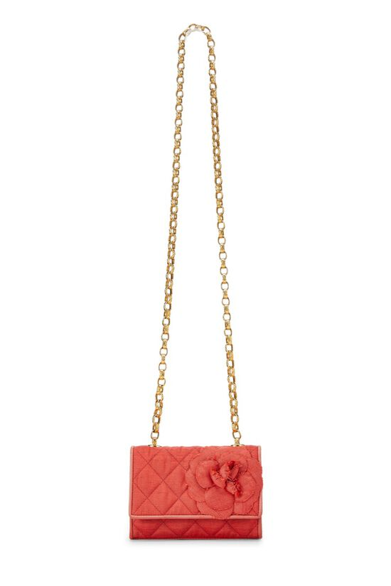 Red Quilted Flower Flap Mini, , large image number 12