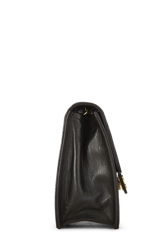 Black Quilted Lambskin Ex Flap Small, , large image number 2
