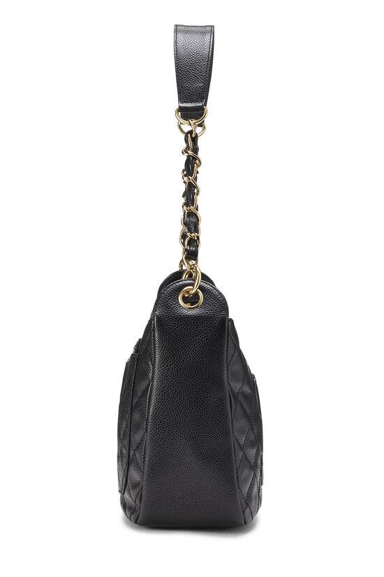 Black Caviar Timeless 'CC' Shoulder Bag, , large image number 2