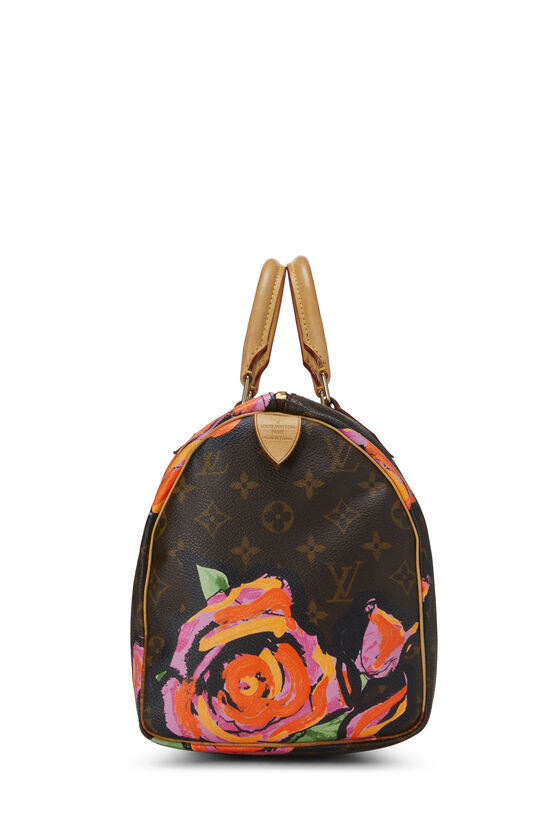 Stephen Sprouse x Louis Vuitton Monogram Roses Speedy 30, , large image number 2