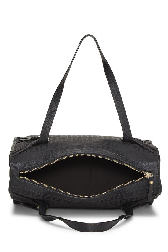 Black Zucchino Canvas Handbag Small, , large image number 5